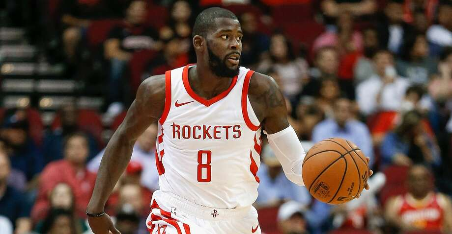 HOUSTON, TX - OCTOBER 04: James Ennis III #8 of the Houston Rockets brings the ball up court against the Indiana Pacers at Toyota Center on October 4, 2018 in Houston, Texas. NOTE TO USER: User expressly acknowledges and agrees that, by downloading and or using this photograph, User is consenting to the terms and conditions of the Getty Images License Agreement. (Photo by Bob Levey/Getty Images) Photo: Bob Levey/Getty Images