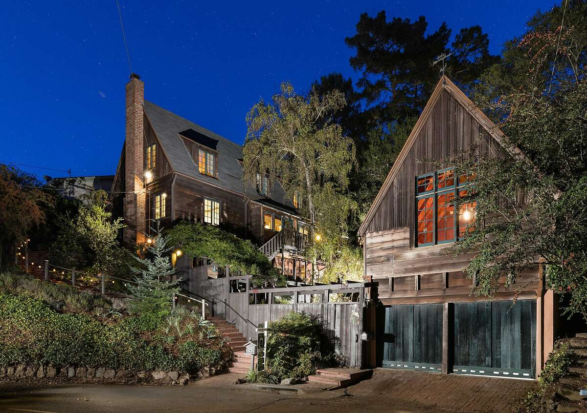 1355 and 1357 Queens Road in Berkeley features a main house famous architect Henry Gutterson designed in 1936.