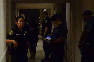 Two people have been found shot to death Thursday evening at a luxury Houston apartment complex, according to police.