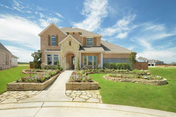 The Glenmeade by David Weekly Homes in Katy?'s Cane Island ?- Quail Park.