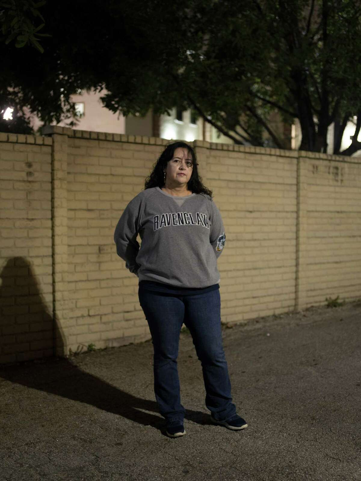 Celina Herrera, a former student at Providence Catholic School is among the victims speaking out against the alleged sexual relationships with a former teacher at Providence, Ruben Calderon. Calderon was hired at Holy Cross in 2010 and was celebrated as a winning girls volleyball coach until he resigned Tuesday as the Providence investigation spread. Photographed on Thursday, November 8, 2018.