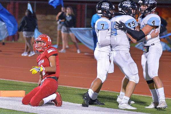 Martin was picked off three times in end zone Thursday in its loss to Harlan.