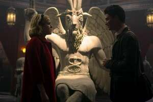 The Satanic Temple is suing Netflix, alleging unauthorized use of the goat-headed deity Baphomet.