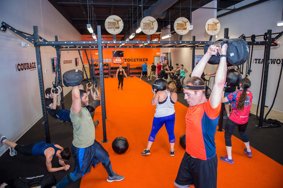 A picture from the Tough Mudder Bootcamp grand opening celebration in Burlington, Mass. Photo: Tough Mudder Bootcamp