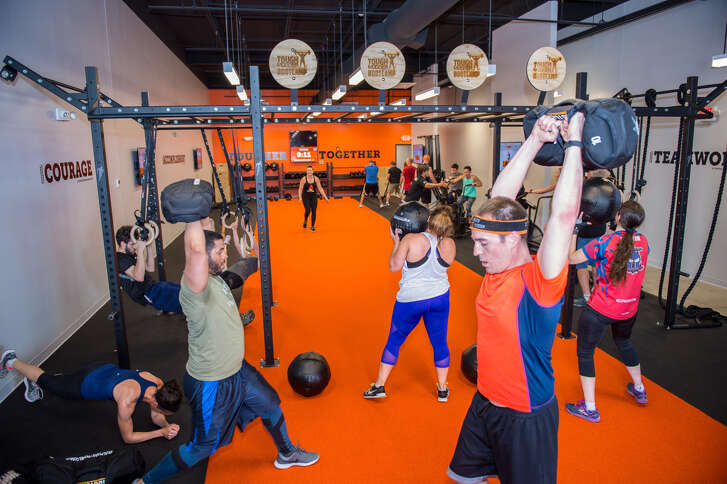 A picture from the Tough Mudder Bootcamp grand opening celebration in Burlington, Mass.