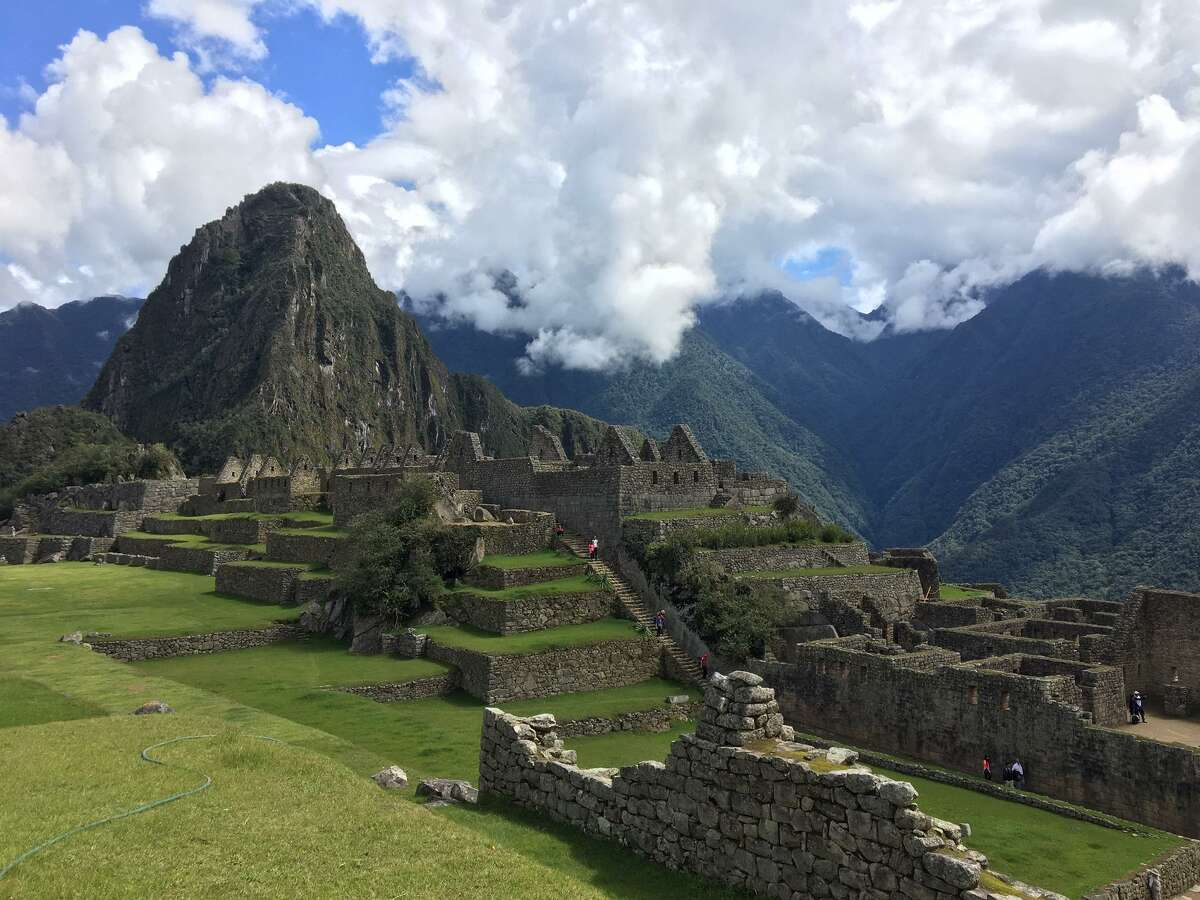 Machu Picchu is the prize after a four-day trek along the Inca Trail.