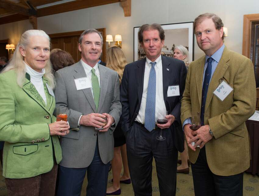 On November 7, 2018, more than 50 Greenwich-area residents attended a cocktail party at the Round Hill Club celebrating the local founders and supporters of Orbis, a nonprofit organization dedicated to transforming lives through the treatment and prevention of blindness. The event was co-hosted by Alan and Ellen Breed, Lang and Lyn Cook, Desmond and Muffie FitzGerald, Jim and Alison Knight, and Mark and Lucy Stitzer. Were you SEEN?