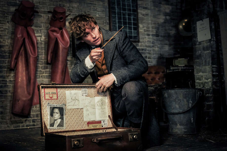 "Eddie Redmayne returns as Newt Scamander in this sequel to the 2016 film ""Fantastic Beasts and Where To Find Them."" Photo: Jaap Buitendijk, Warner Bros. Pictures / Warner Bros. Pictures"