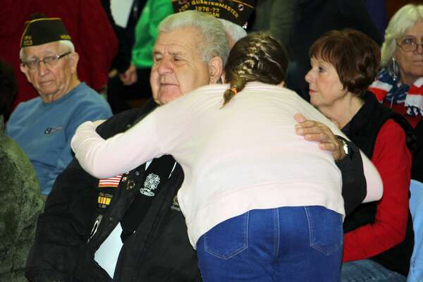 Elkton-Pigeon-Bay Port Laker students honored local veterans Friday morning with special program aimed toward those in the service - past and present.