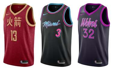 on sale 16b29 13aeb A look at every team's NBA 'City' uniforms this season - SFGate