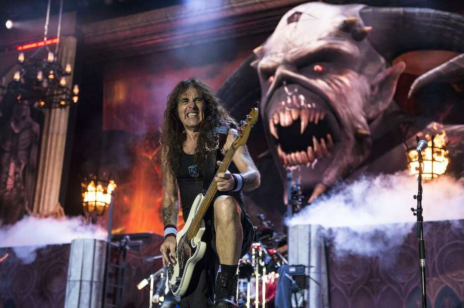 Iron Maiden's Legacy of the Beast tour hits the AT&T Center in September 2019 Photo: John McMurtrie