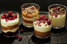 A batch of Bavarian cream can be used to build a variety of parfaits.