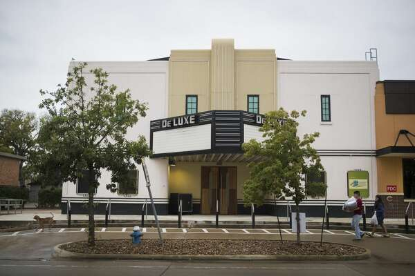 The DeLuxe Theater was renovated in 2014 in the Fifth Ward, Wednesday, Oct. 24, 2018, in Houston.