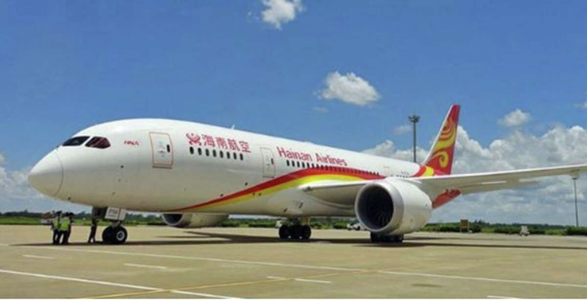 Hainan Airlines will use a 787 for new Seattle and Boston service.