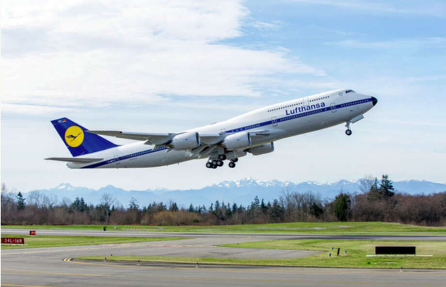 Keep an eye out for this bird! Lufthansa's SFO-Frankfurt route will briefly get a 747-8 in January- among other jet swaps Photo: Lufthansa