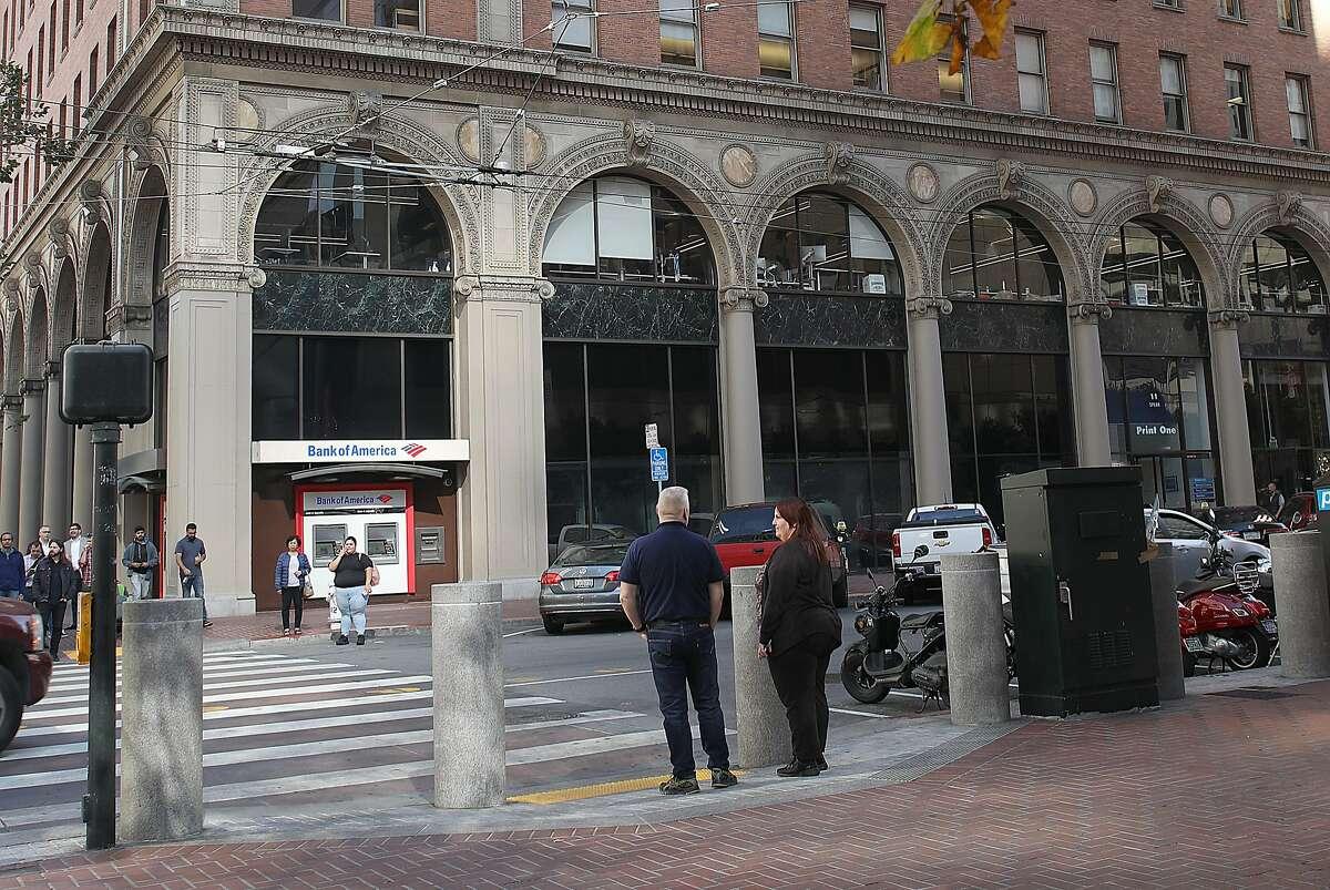 One Market Landmark is seen on Thursday, Nov. 1, 2018, in San Francisco, Calif.