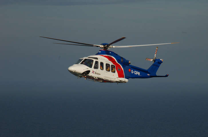 A Houston-based Bristow Group helicopter.
