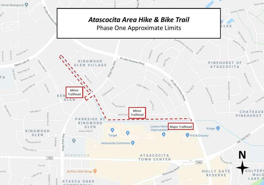 Atascocita Hike & Bike Trail Photo: Harris County Precinct 2