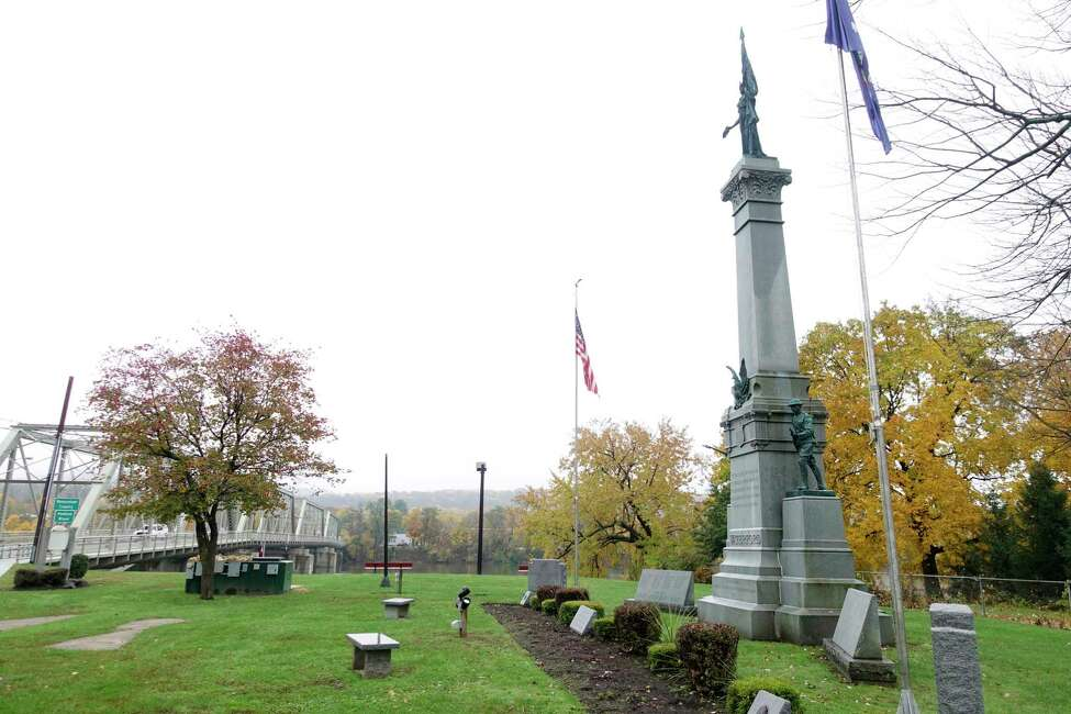 A view of the Soldiers and Sailors Memorial Park on Tuesday, Nov. 6, 2018, in Waterford, N.Y. (Paul Buckowski/Times Union)