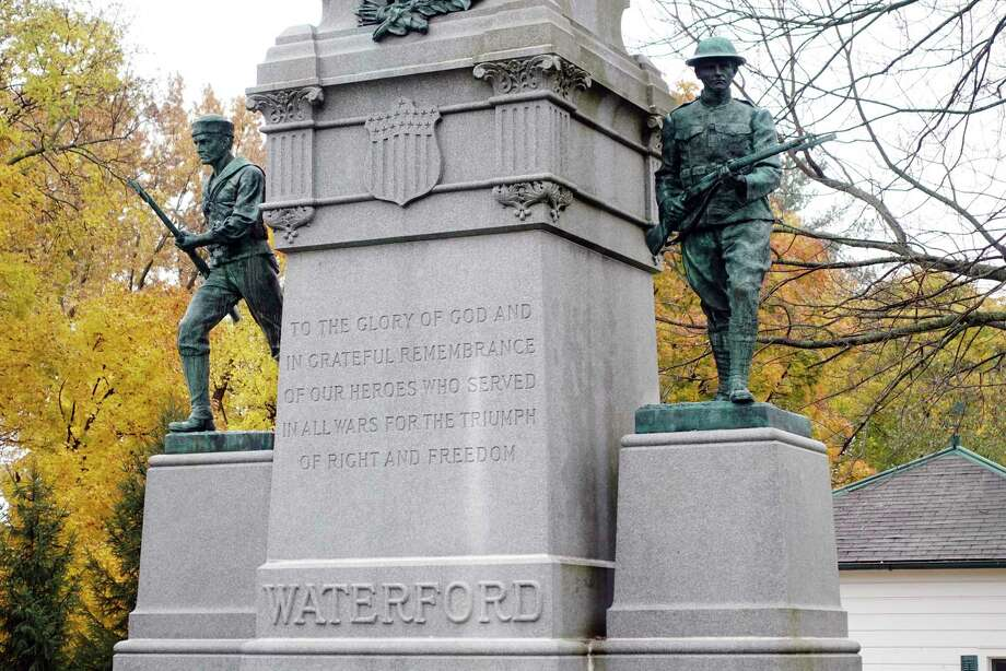 A view of the Soldiers and Sailors Memorial Park on Tuesday, Nov. 6, 2018, in Waterford, N.Y.  (Paul Buckowski/Times Union) Photo: Paul Buckowski, Times Union / (Paul Buckowski/Times Union)