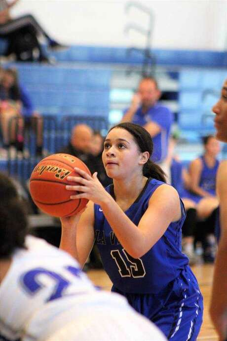 Helena Chadwick is a freshman guard at La Vernia Photo: Courtesy
