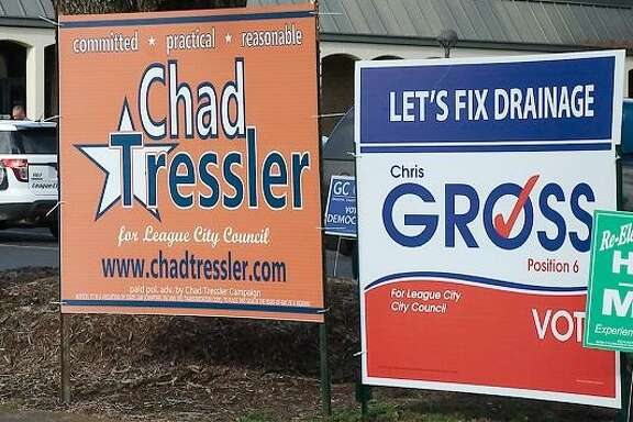 Chad Tressler and Chris Gross will vie against each other in a runoff election for a League City council seat.