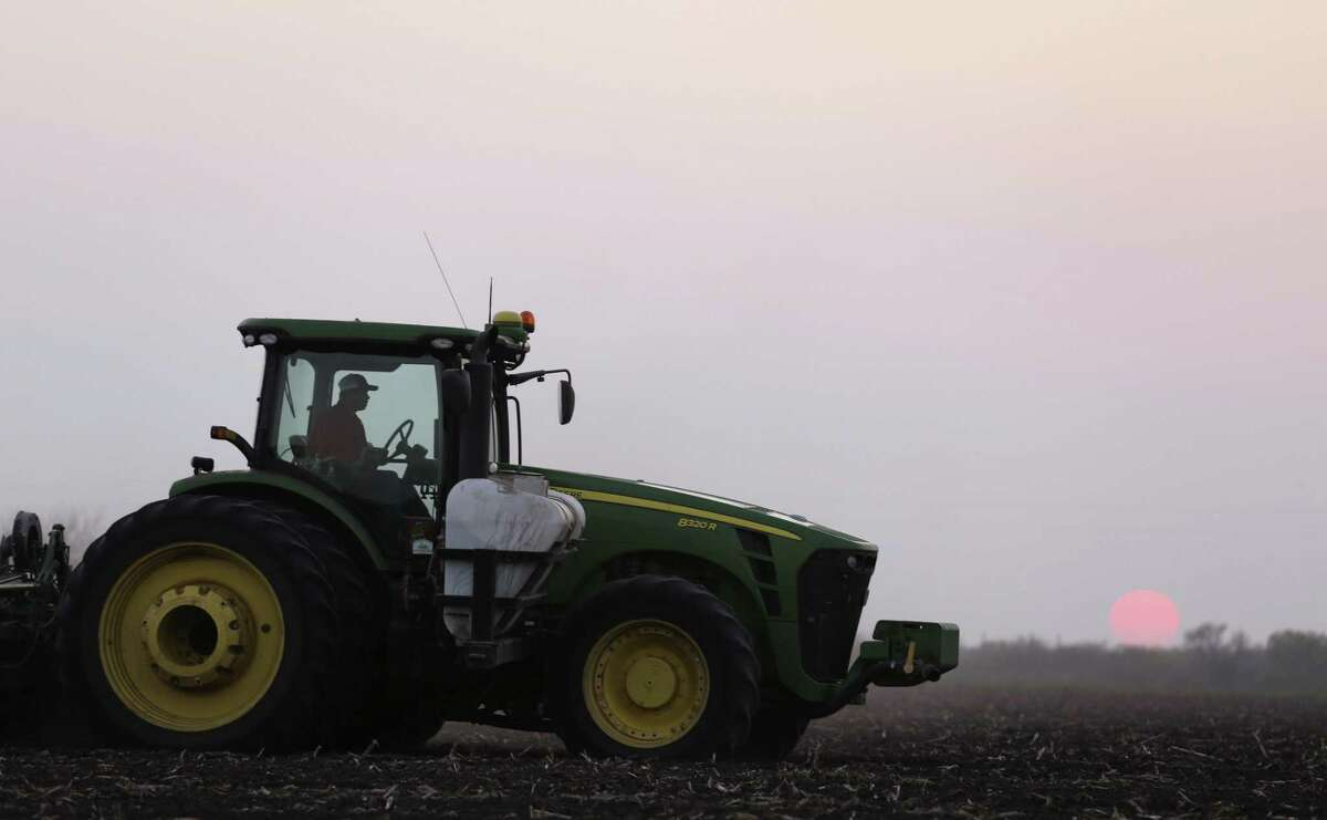 A Beevile-area farmer plants cotton on a 120-acre field. Midland Republican Mike Conaway is losing the chairman's post with the House Committee on Agriculture after shepherding through some key wins for cotton.