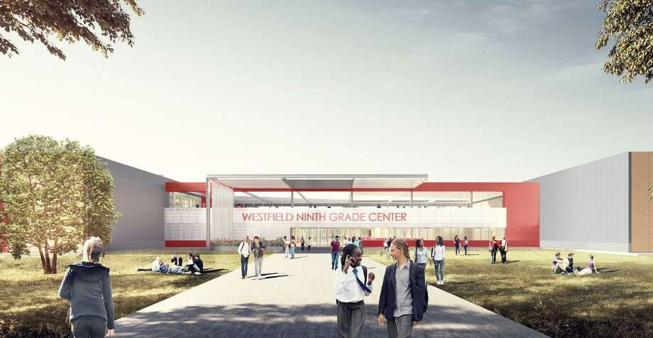 The architecture firm Pfluger designed the Westfield Ninth Grade Center for Spring ISD as part of its $330 million bond. Photo: Courtesy Of Pfluger