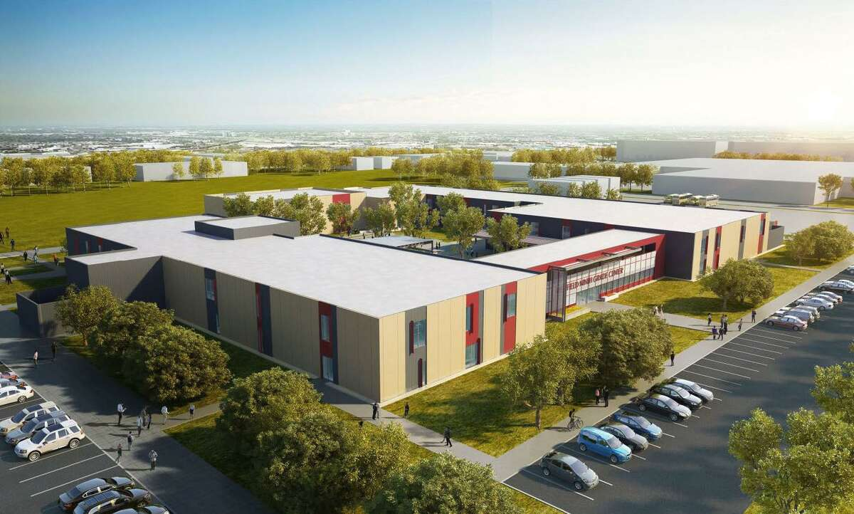 The architecture firm Pfluger designed the Westfield Ninth Grade Center for Spring ISD as part of its $330 million bond.