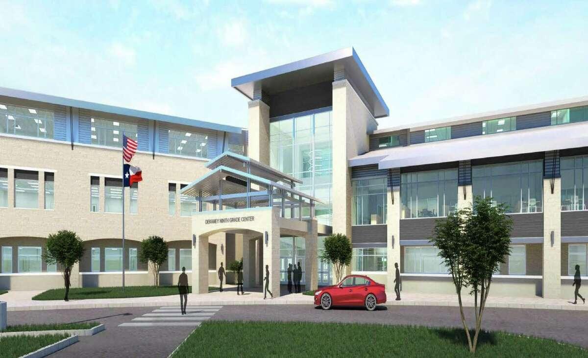 VLK Architects designed the Dekaney Ninth Grade Center as part of Spring ISD's $330 bond.
