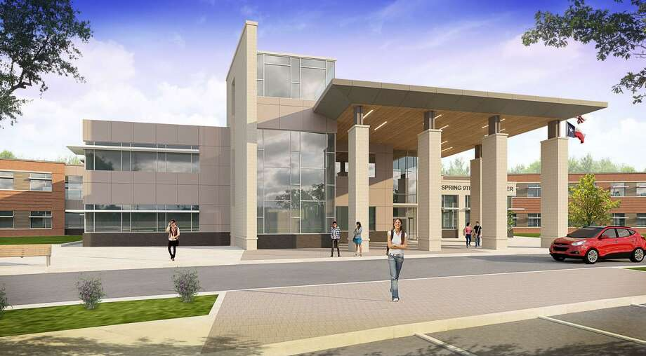 PBK Architects designed the Spring Ninth Grade Center for Spring ISD as one of the projects of of its $330 bond. Photo: Courtesy Of PBK Architects