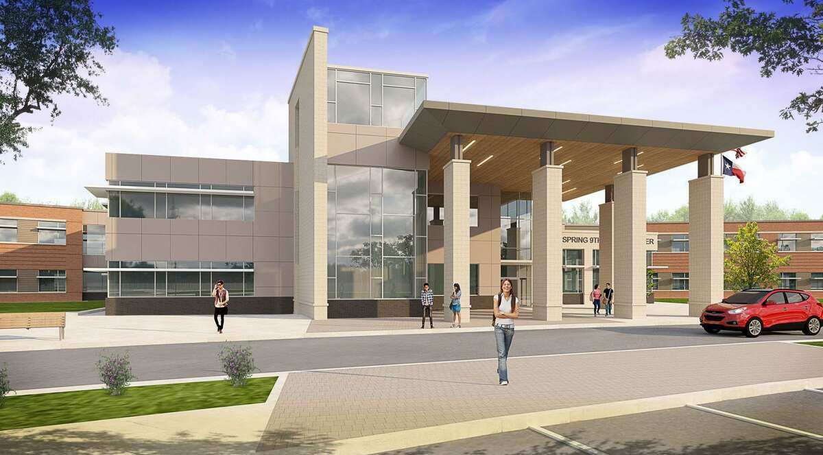 PBK Architects designed the Spring Ninth Grade Center for Spring ISD as one of the projects of of its $330 bond.