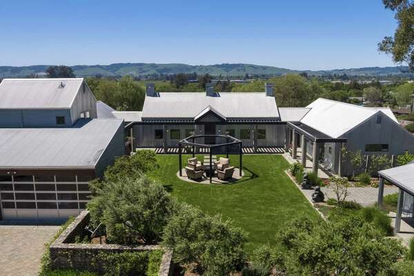 The Sonoma compound rests on more than 5 acres.