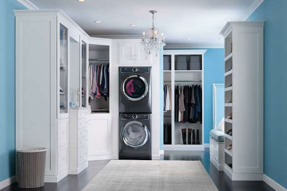 Even when placed in the master closet, noise usually isn't an issue because today's appliances are well insulated. Timers also allow the homeowner to better schedule when they'll run.