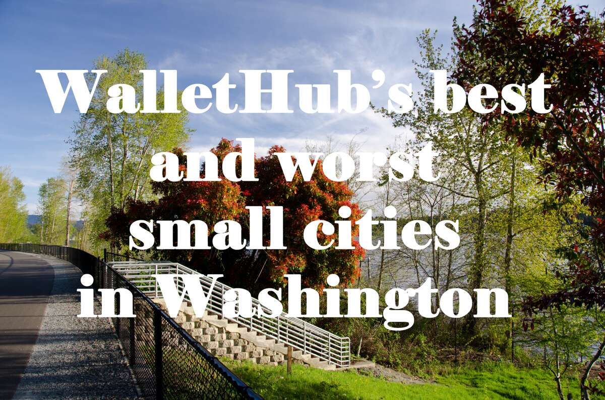 Click through the gallery to see how WalletHub ranks the best and worst small cities in Washington...