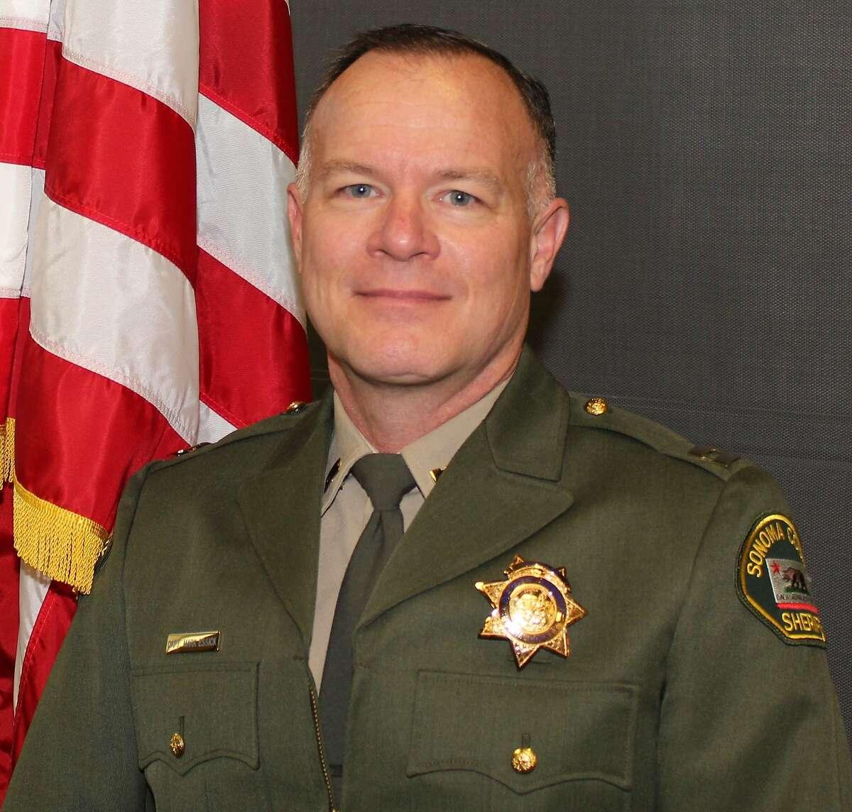 Sonoma County Sheriff-Elect Mark Essick