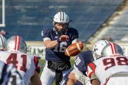 Yale freshman quarterback Griffin O'Connor.