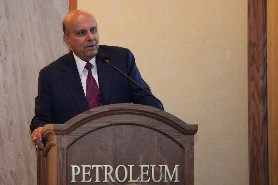 S. Javaid Anwar, president and chief executive officer of Midland Energy and Petroplex Energy, will receive the Permian Basin Petroleum Association's Top Hand Award Thursday at a dinner at the Petroleum Club. Photo: James Durbin / ? 2018 Midland Reporter-Telegram. All Rights Reserved.