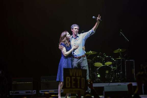 Beto O'Rourke and his wife Amy Sanders O'Rourke hug and wave goodbye to his supporters in El Paso after losing to Ted Cruz in the 2018 midterm elections. Readers discuss the election results.