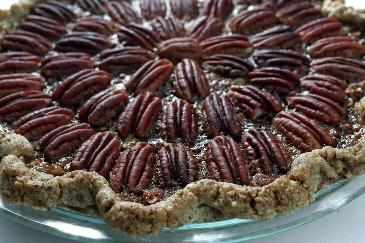Paula Forbes' Maximum Pecan Pie even incorporates pecans into the crust.