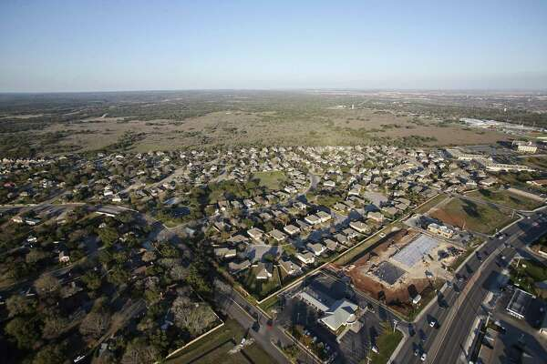 A view of the Oak Run subdivision in New Braunfels in 2016. Rising property appraisals and growth in the New Braunfels Independent School District has meant school bond debt has not required tax rate increases.