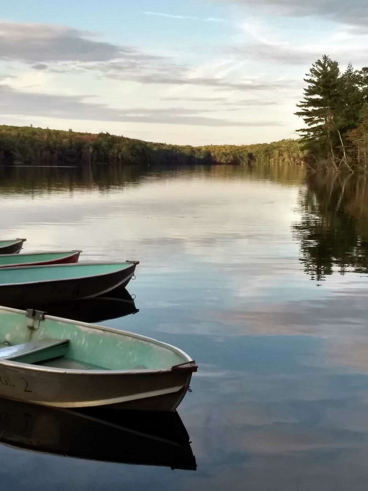 Cindy Conley of Castleton-on-Hudson came upon a peaceful late September afternoon at Grafton Lakes State Park.