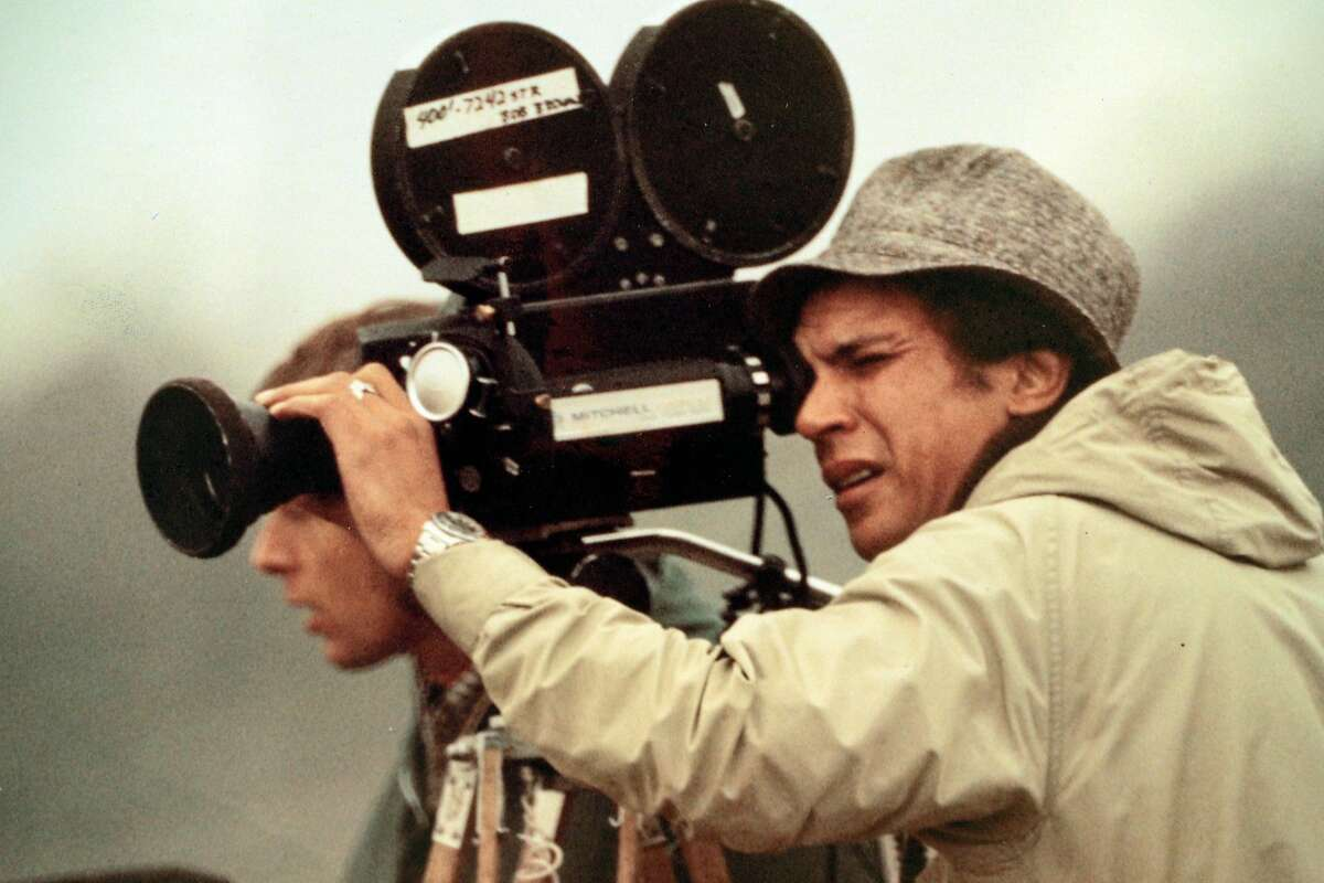 Undated photo of Bob Brown working in the field. Connie Brown Henderson is the widow of Bob Brown, the veteran NBC cameraman who was shot to death in 1978 at Jonestown along with Congressman Leo Ryan and three others as they tried to leave with defectors from the cult -- Brown kept filming even as he was shot. She and Brown were married years before, but they had to move to San Francisco because he was black and she was white and their union was illegal in Indiana where they lived.