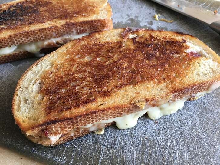 Cowgirl Creamery's Grilled Cheese Sandwiches With Turkey & Cranberry Sauce