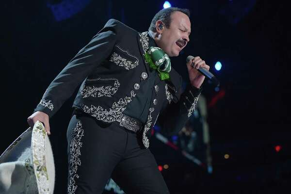 """Pepe Aguilar: Ranchera star Aguilar will be performing on horseback for the first time in years on his tour """"Pepe Aguilar y Familia presentan: Jaripeo Sin Fronteras."""" The singer known for hits such as Aguilar, known for hits such as """"Prometiste"""" and """"Por Mujeres Como Tu"""" will be joined by his children, Leonardo and Angela, and mariachi singer Christian Nodal, with music by Mariachi El Zacatecano and Banda Azul Tequila. There also will be rodeo events with cowboys and charros, rodeo clowns and an appearance by Whiplash the cowboy monkey. 8 p.m. Saturday. Freeman Coliseum, 3201 E. Houston St. $59-$175. freemancoliseum.com - Jim Kiest"""