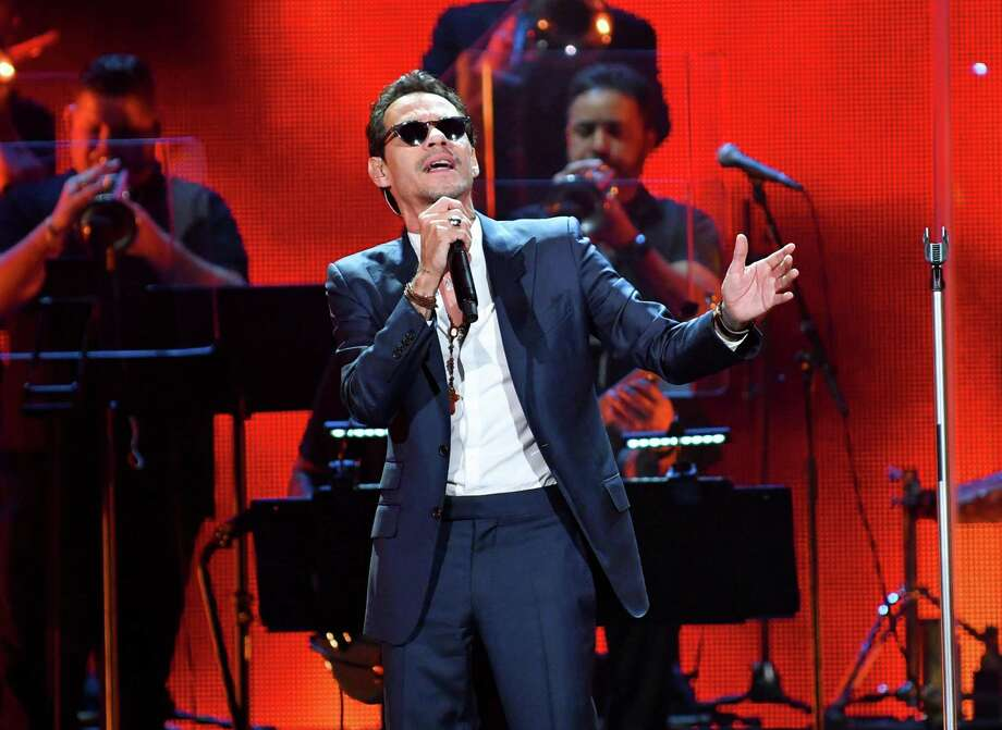 """Marc Anthony: Calling his tour """"Legacy"""" suggests a career recap for the salsa star from New York, who flirted with crossover success around the turn of the century with hits such as """"I Need to Know"""" and """"You Sang to Me."""" But Marc Anthony is still a force: He recently signed a $160 million worldwide touring deal, according to Billboard; """"Vivir Mi Vida"""" from his 2013 album 3.0 was a big hit; and he, Will Smith and reggaeton star Bad Bunny will open the Latin Grammy Awards on Thursday with their song """"Está Rico."""" 8 p.m. Friday. AT&T Center, 1 AT&T Center Parkway at East Houston Street. $63-$153. attcenter.com — Jim Kiest Photo: Jason Koerner /Getty Images For IHeartRadio / 2018 Getty Images"""