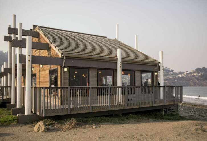 Perhaps the world's best Taco Bell? It's located on the shores of Pacifica State Beach.