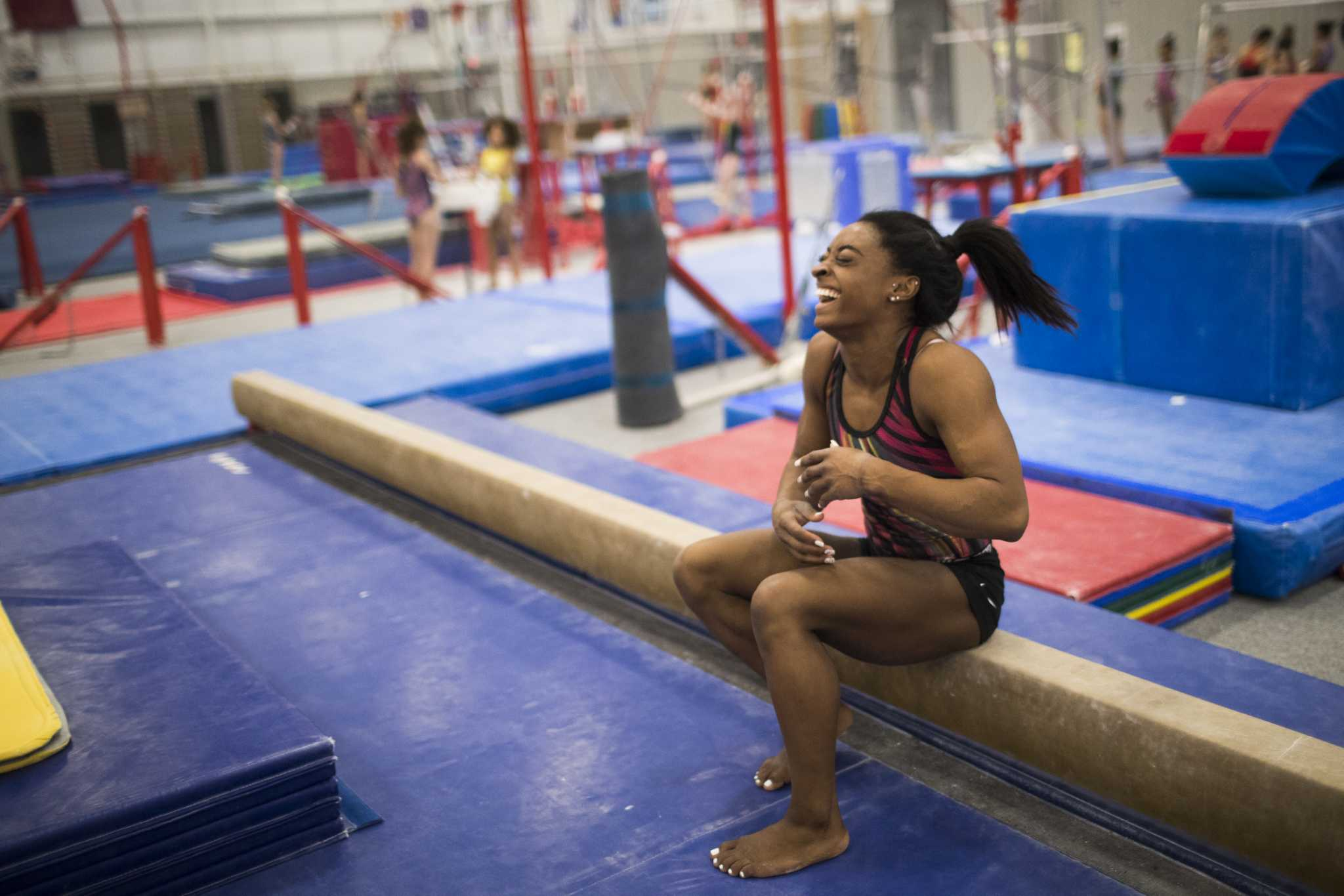 Simone Biles Q&A: Kidney stones, speaking out and a new coach