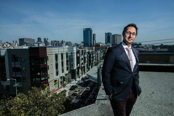 Nav Athwal, the founder of RealtyShares, stands for a portrait in an undated photo in San Francisco, Calif.