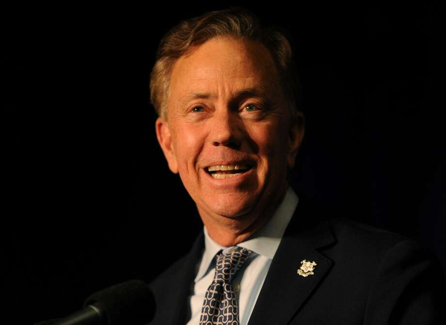 Governor-elect Ned Lamont smiles at supporters after his victory at Dunkin Donuts Park in Hartford, Conn. on Wednesday, November 7, 2018. Photo: Brian A. Pounds / Hearst Connecticut Media / Connecticut Post